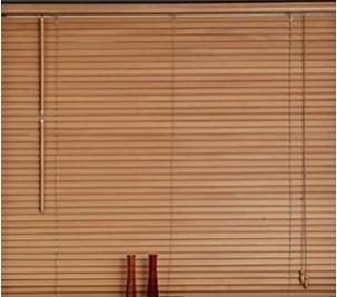 Store vénitien bois et bambou 25mm