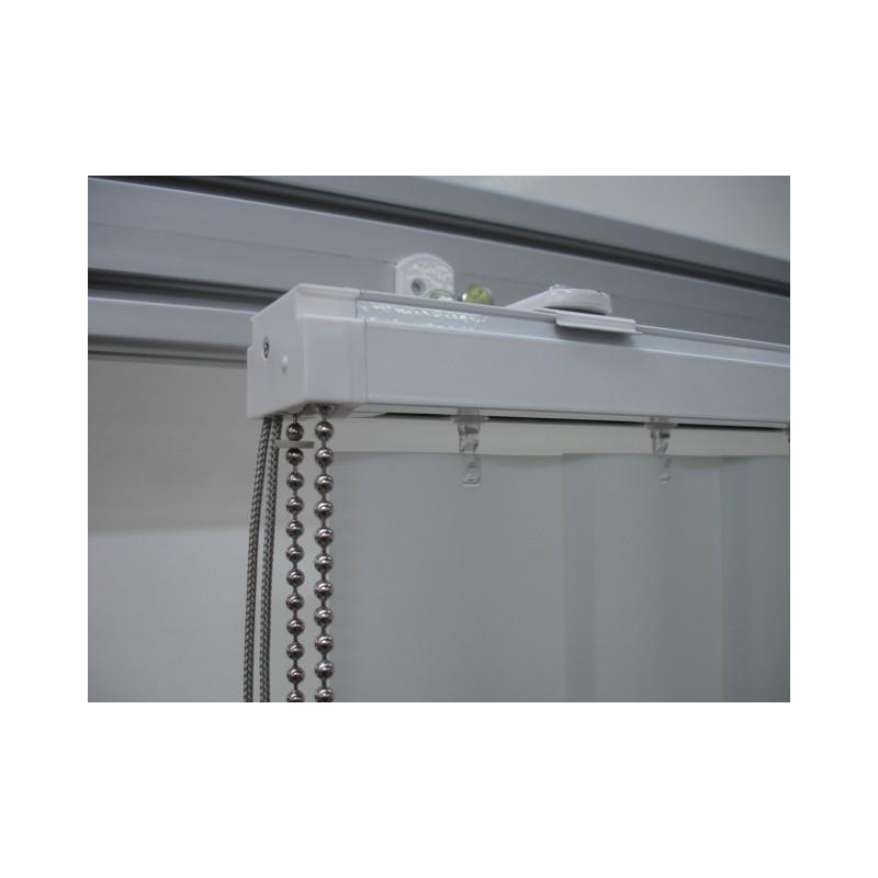 store bandes verticales lames pvc store sur mesure. Black Bedroom Furniture Sets. Home Design Ideas