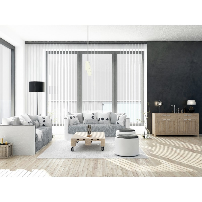 store bandes verticales lames pvc et aluminium store sur mesure. Black Bedroom Furniture Sets. Home Design Ideas