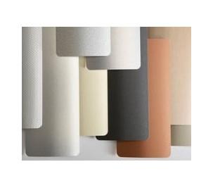Store à bandes verticales lames PVC et aluminium .