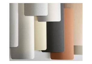 Store à bandes verticales lames PVC