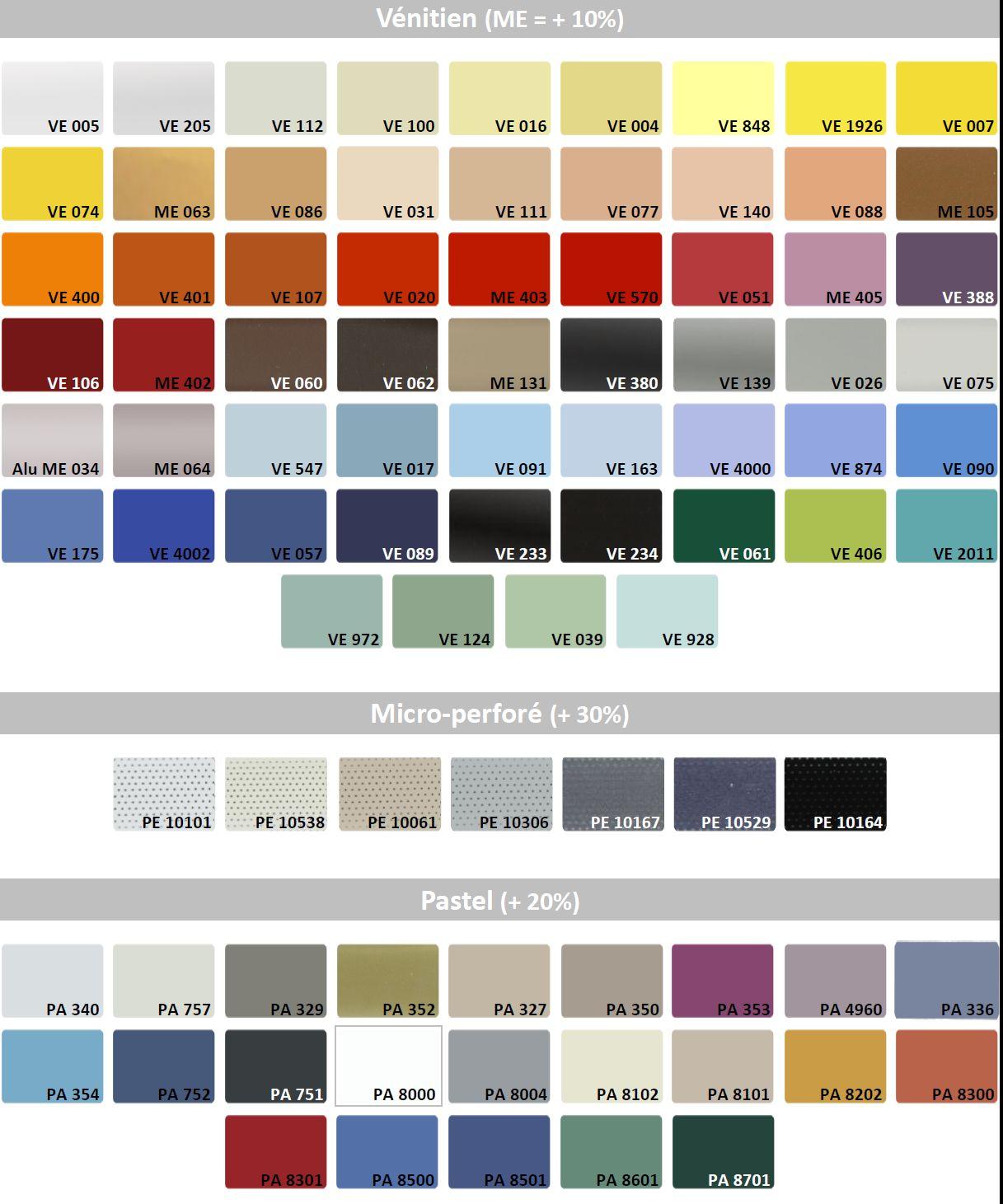 coloris prestige